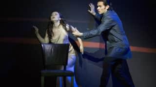 Venera Gimadieva as Violetta and Michael Fabiano as Alfredo in La traviata, Festival 2014