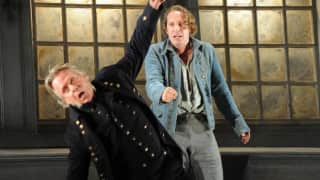 Jacques Imbrailo as Billy Budd and Philip Ens as Claggart