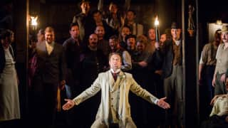 Carmen, Glyndebourne Festival 2015. Escamillo (David Soar).