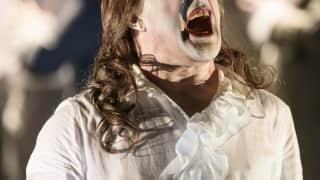 Saul, Glyndebourne Festival 2015. Christopher Purves (Saul). Photographer Bill Cooper.