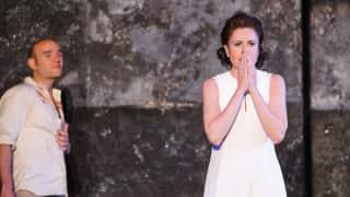 Poliuto, Glyndebourne Festival 2015. Paolina (Ana María Martínez).