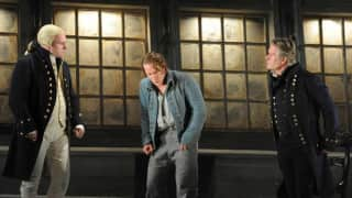 John Mark Ainsley as Captain Vere, Jacques Imbrailo as Billy Budd and Philip Ens as Claggart