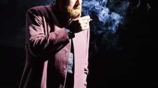Poliuto, Glyndebourne Festival 2015. Callistene (Matthew Rose).