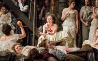 Carmen, Glyndebourne Festival 2015. Carmen (Stéphanie d'Oustrac).  Photographer: Robert Workman.