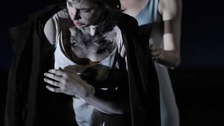 The Rape of Lucretia, Glyndebourne Festival 2015. Lucretia (Christine Rice) and Female Chorus (Kate Royal).