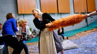The Cunning Little Vixen rehearsals