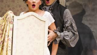 Don Pasquale, Glyndebourne Tour 2015. Norina (Eliana Pretorian) and Dr Malatesta (John Brancy). Photographer: Tristram Kenton