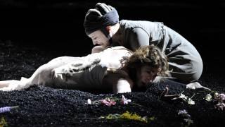The Rape of Lucretia, Glyndebourne Festival 2015. Lucretia (Christine Rice) and Lucia (Louise Alder).