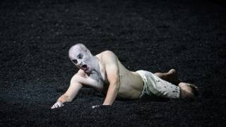 Saul, Glyndebourne Festival 2015. Saul (Christopher Purves). Photographer Bill Cooper.