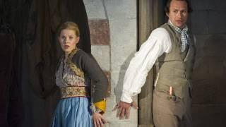 Die Entführung aus dem Serail, Glyndebourne Festival 2015. Konstanze (Sally Matthews) and Belmonte (Edgaras Montvidas).