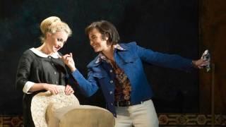 Susanna (Lydia Teuscher) and Cherubino (Isabel Leonard), Le nozze di Figaro 2012.