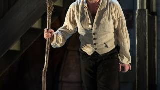 Glyndebourne Tour 2015, Die Entführung aus dem Serail. Pedrillo (James Kryshak). Photographer: Clive Barda