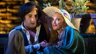 Figaro (Vito Priante) and Susanna (Lydia Teuscher), Le nozze di Figaro 2012.