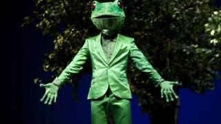 Frog (François Piolino) in L'enfant et les sortilèges (Festival 2012).