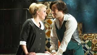 Susanna (Lydia Teuscher) and Figaro (Vito Priante), Le nozze di Figaro 2012.