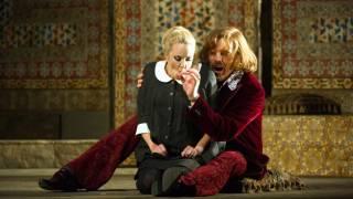 Count Almaviva (Audun Iversen) and Susanna (Lydia Teuscher), Le nozze di Figaro 2012.