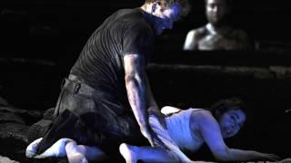 The Rape of Lucretia, Glyndebourne Festival 2015. Tarquinius (Duncan Rock) and Lucretia (Christine Rice).
