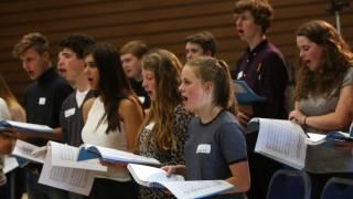 Nothing Chorus members rehearse. Photographer Sam Stephenson.