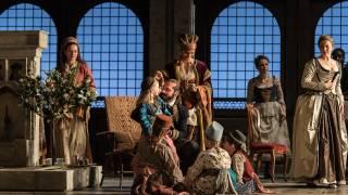 Glyndebourne Tour 2015, Die Entführung aus dem Serail. Pasha Selim (Franck Saurel). Photographer: Clive Barda