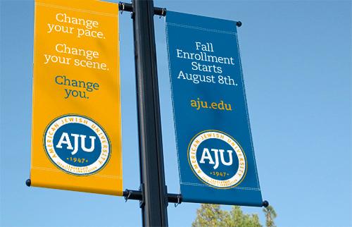 Enrollment Banners
