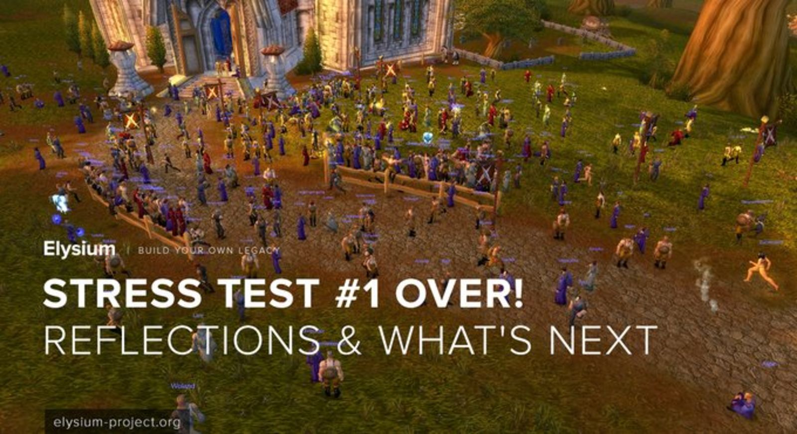 elysium wow legacy server hits 7 500 concurrent players in stress