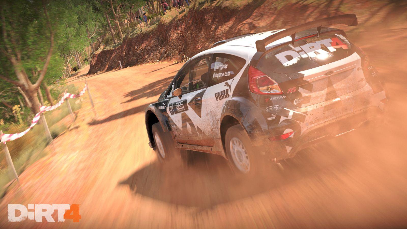 Fiesta Aus 6 DiRT 4 Preview