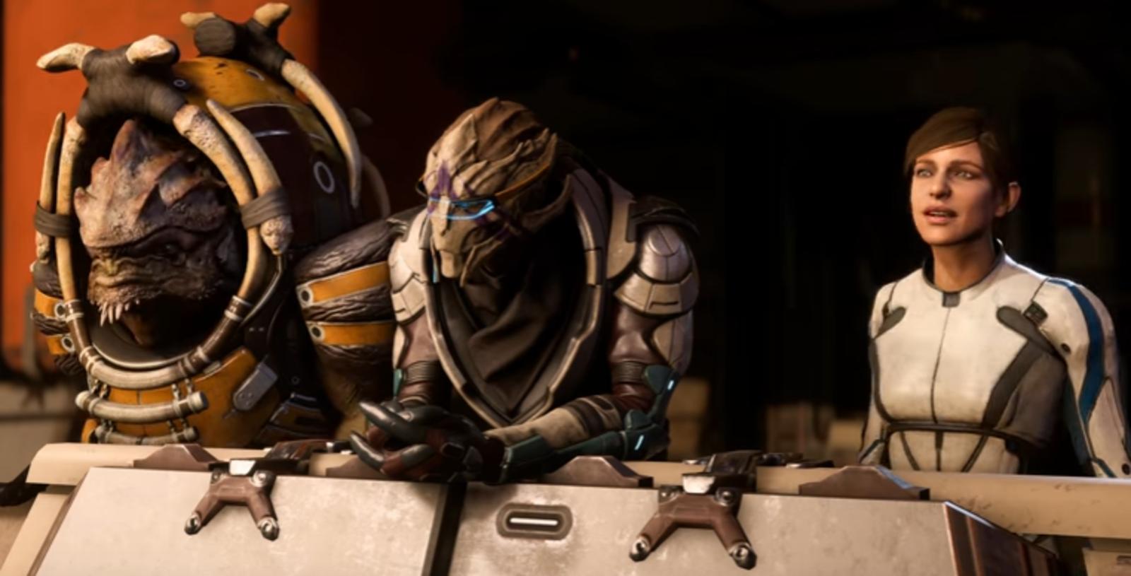 Mass Effect Andromeda Dialogue