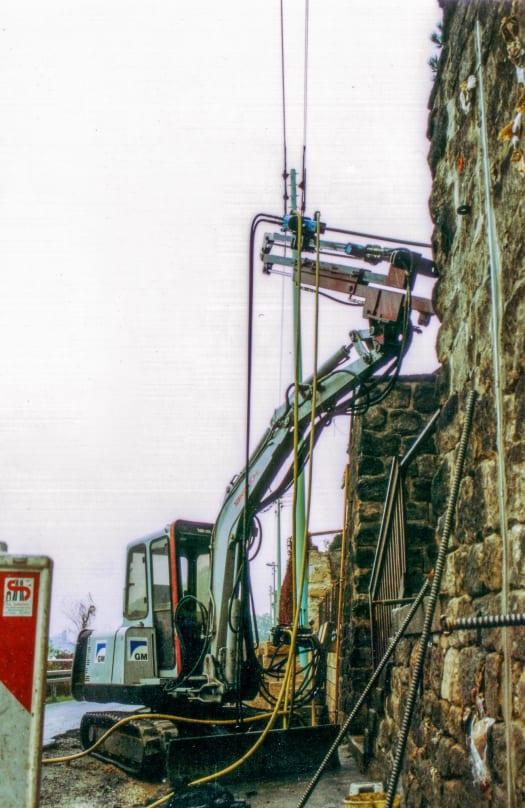 Pirna | Sanierung einer Stützmauer