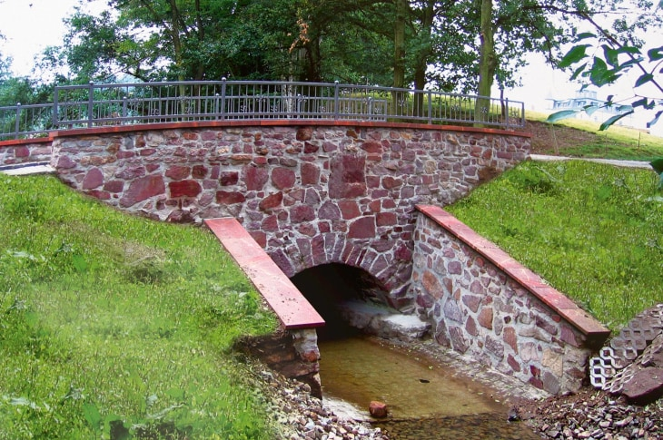 Korpitzsch | Komplettsanierung einer historischen Gewölbebrücke