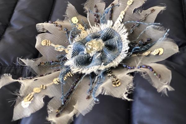 Broderie haute couture au crochet de Lunéville