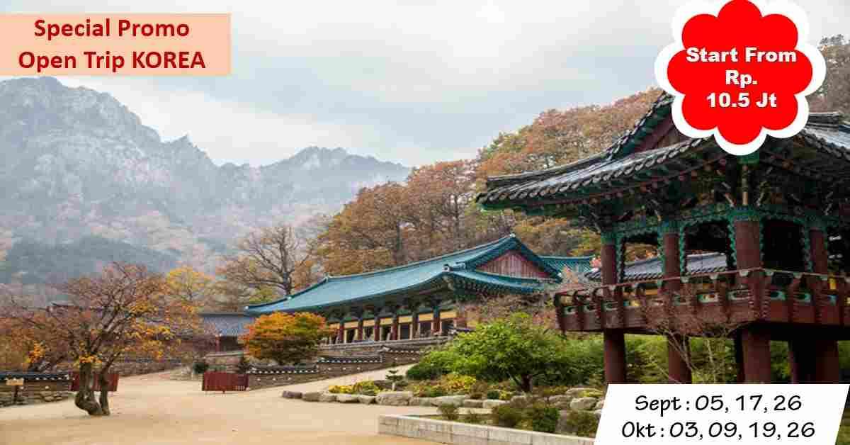 jual 5D Trip KOREA - Seoul September & Oktober 2020