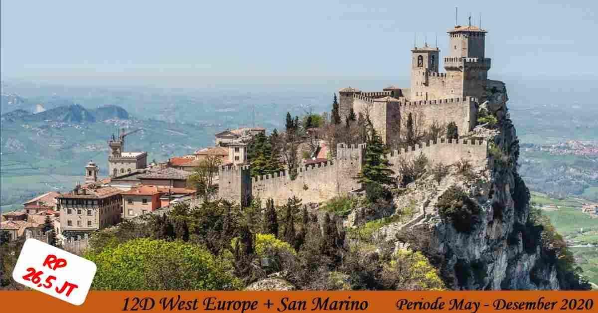 jual 12D West Europe + SAN MARINO May - Desember 2020