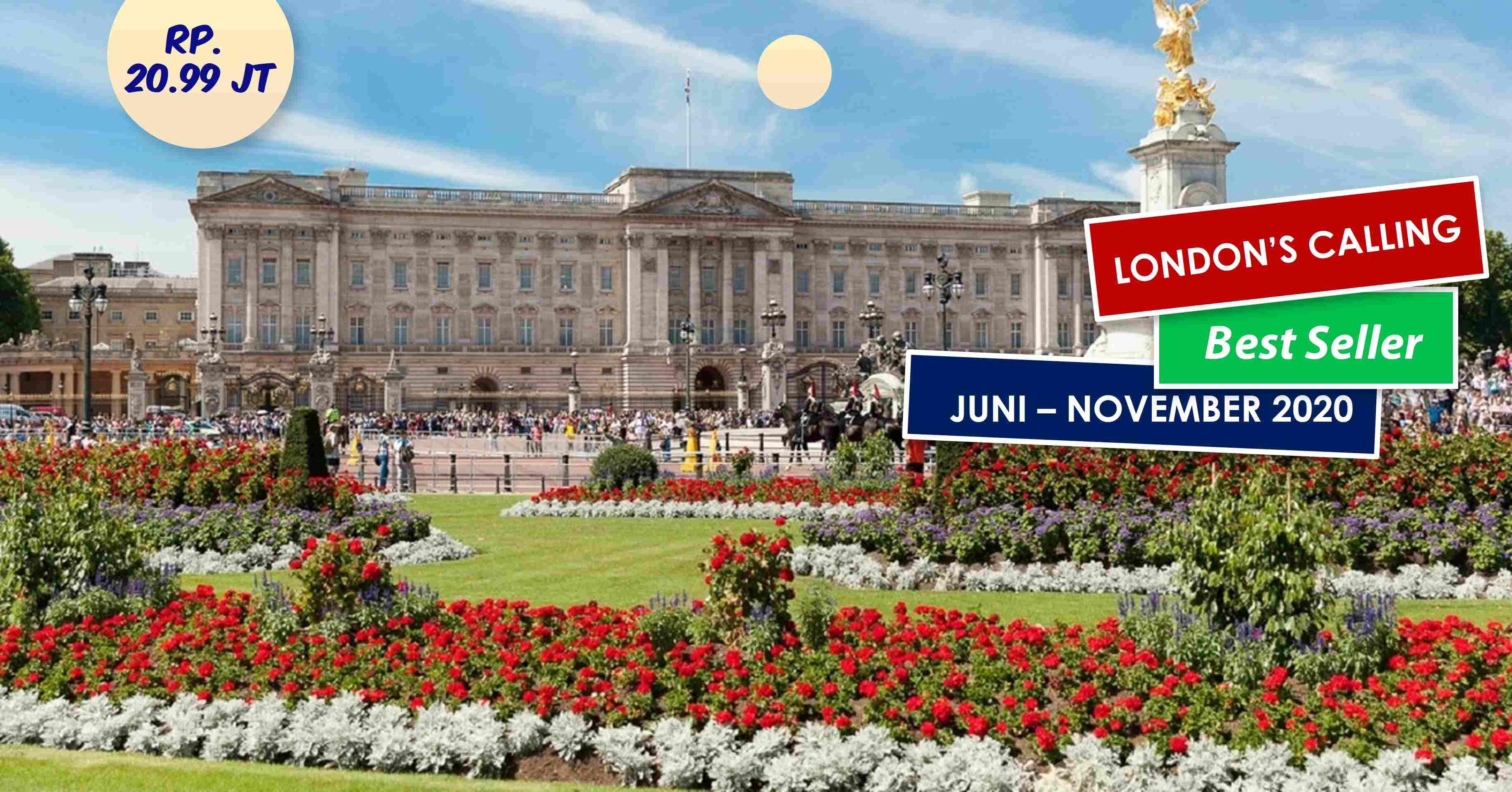 jual 11D London's Calling Juni - November 2020