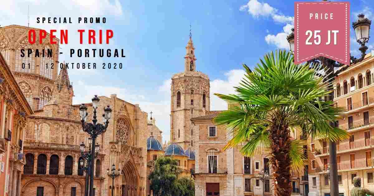 jual 11D Trip Spain & Portugal  01 - 12 Oktober 2020