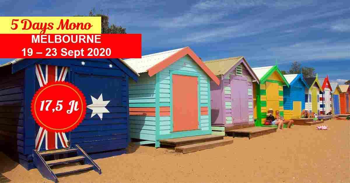 jual 5D Mono Melbourne 19 - 23 September 2020