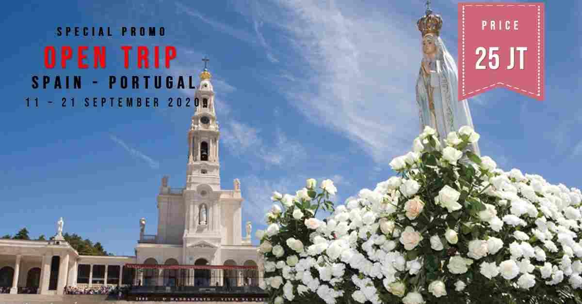 jual 11D Trip Spain & Portugal  11 - 21 September 2020
