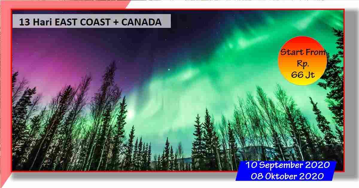 jual 11D BEAUTIFUL CANADIAN ROCKIES + AURORA IN YELLOWKNIFE