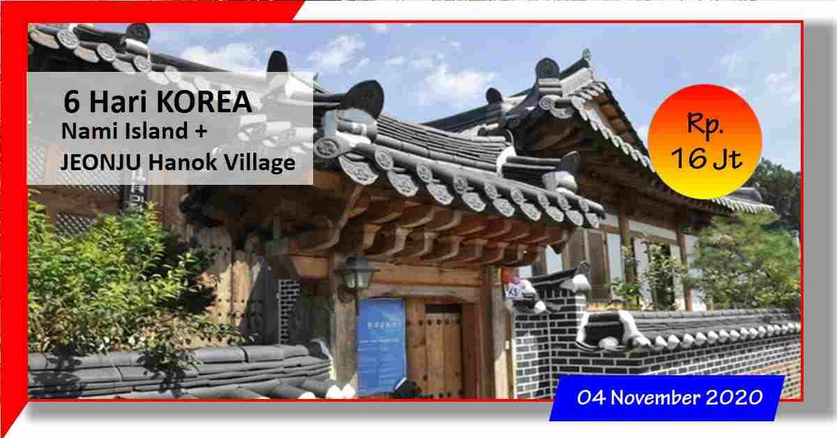 jual 6D JEONJU HANOK VILLAGE - Seoul 04 November 2020