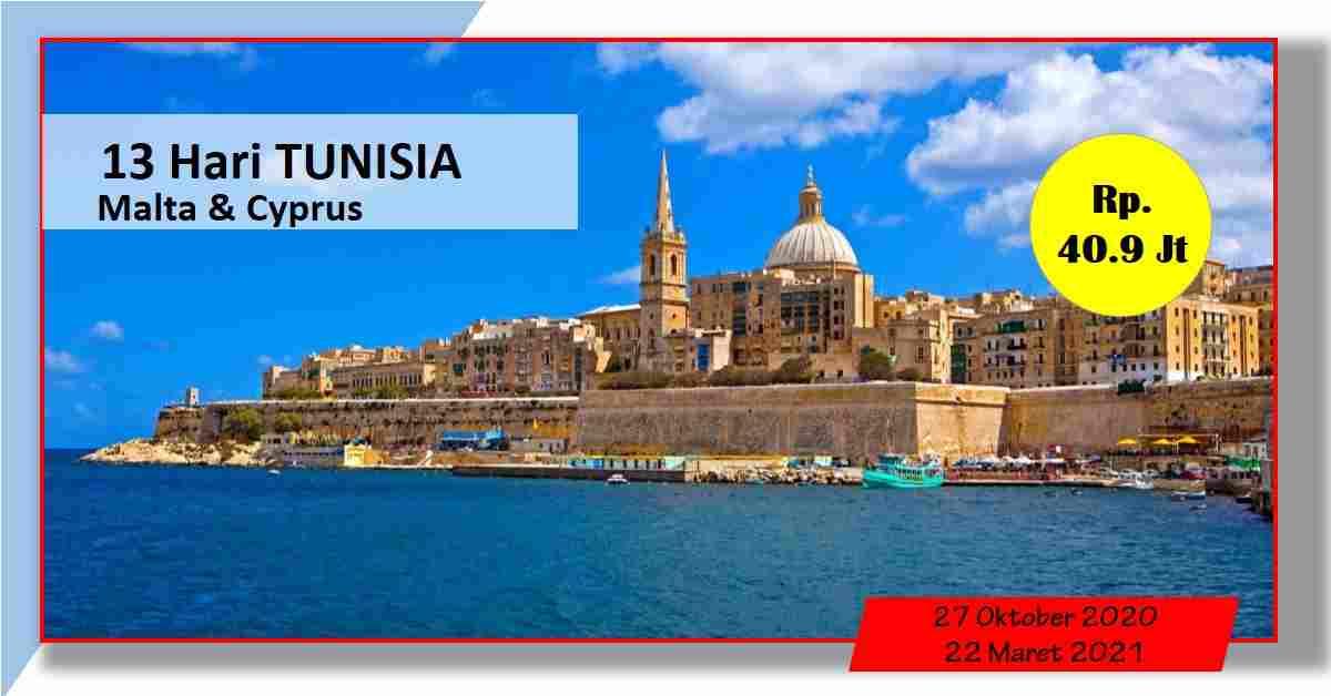 jual 13D TUNISIA - MALTA – CYPRUS 27 Oktober 2020