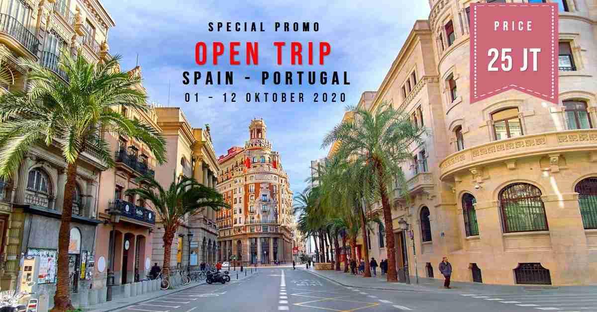11D Trip Spain & Portugal  01 - 12 Oktober 2020