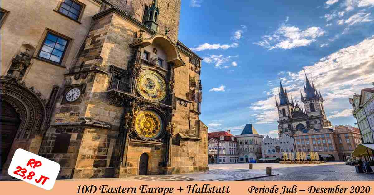 10 Days Eastern Europe + Halstaat
