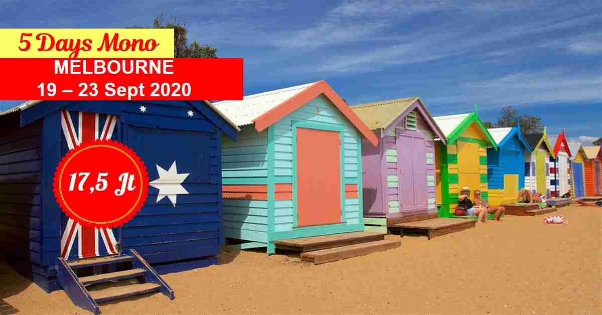 5D Mono Melbourne 19 - 23 September 2020