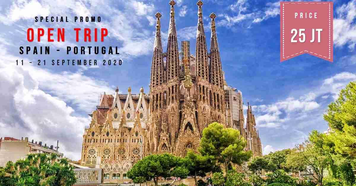 11D Trip Spain & Portugal  11 - 21 September 2020