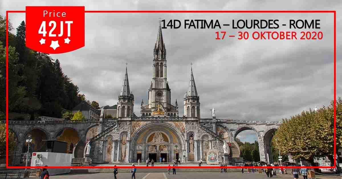 14D FATIMA - LOURDES - ROMA