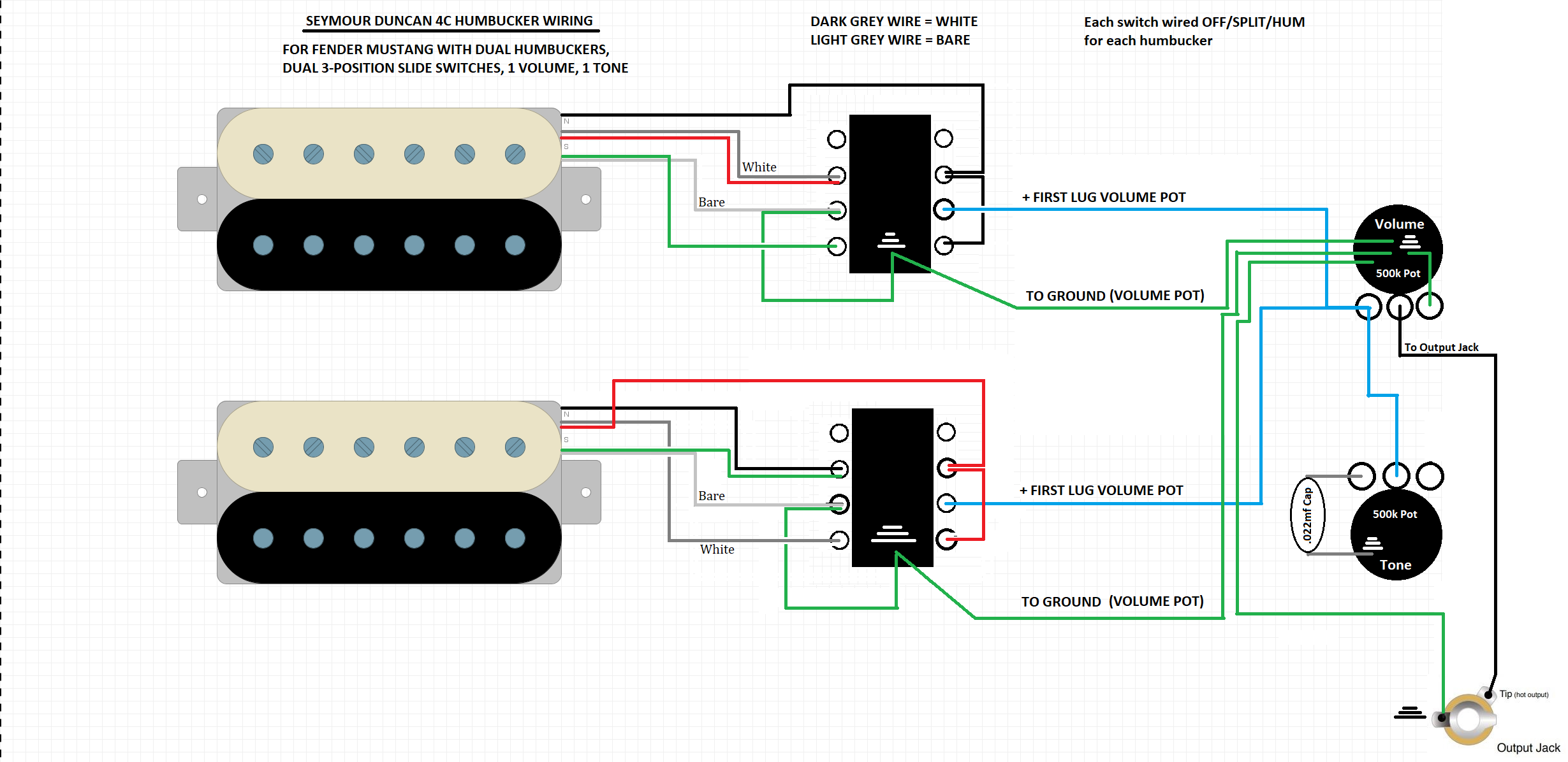fender mustang wiring diagram - Wiring Diagram