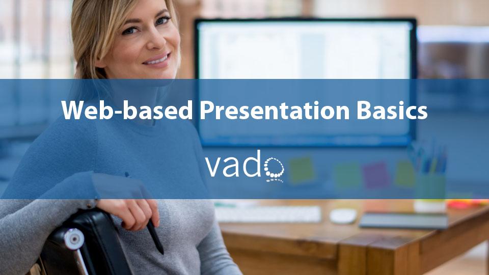 Web-based Presentation Basics