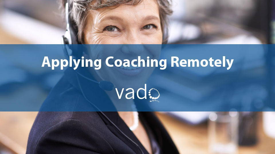 Applying Coaching Remotely