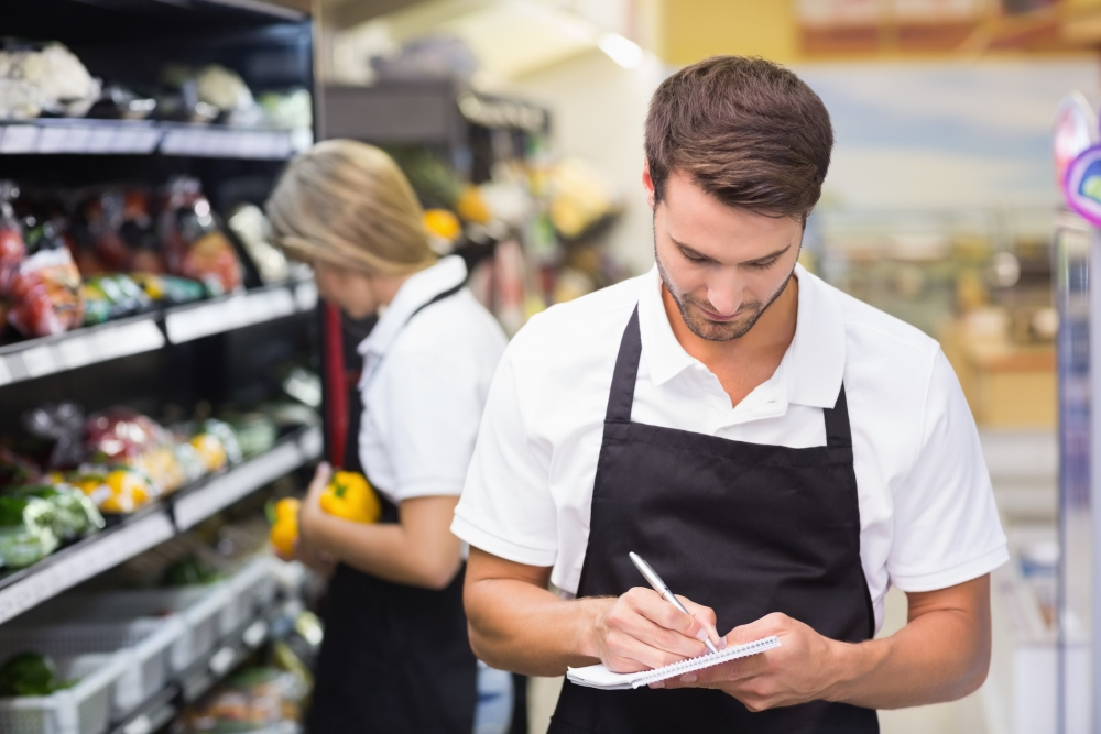 Perform stock control procedures