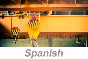 Seguridad en grúas aéreas y de pórticos (Overhead and Gantry Crane Safety Spanish)