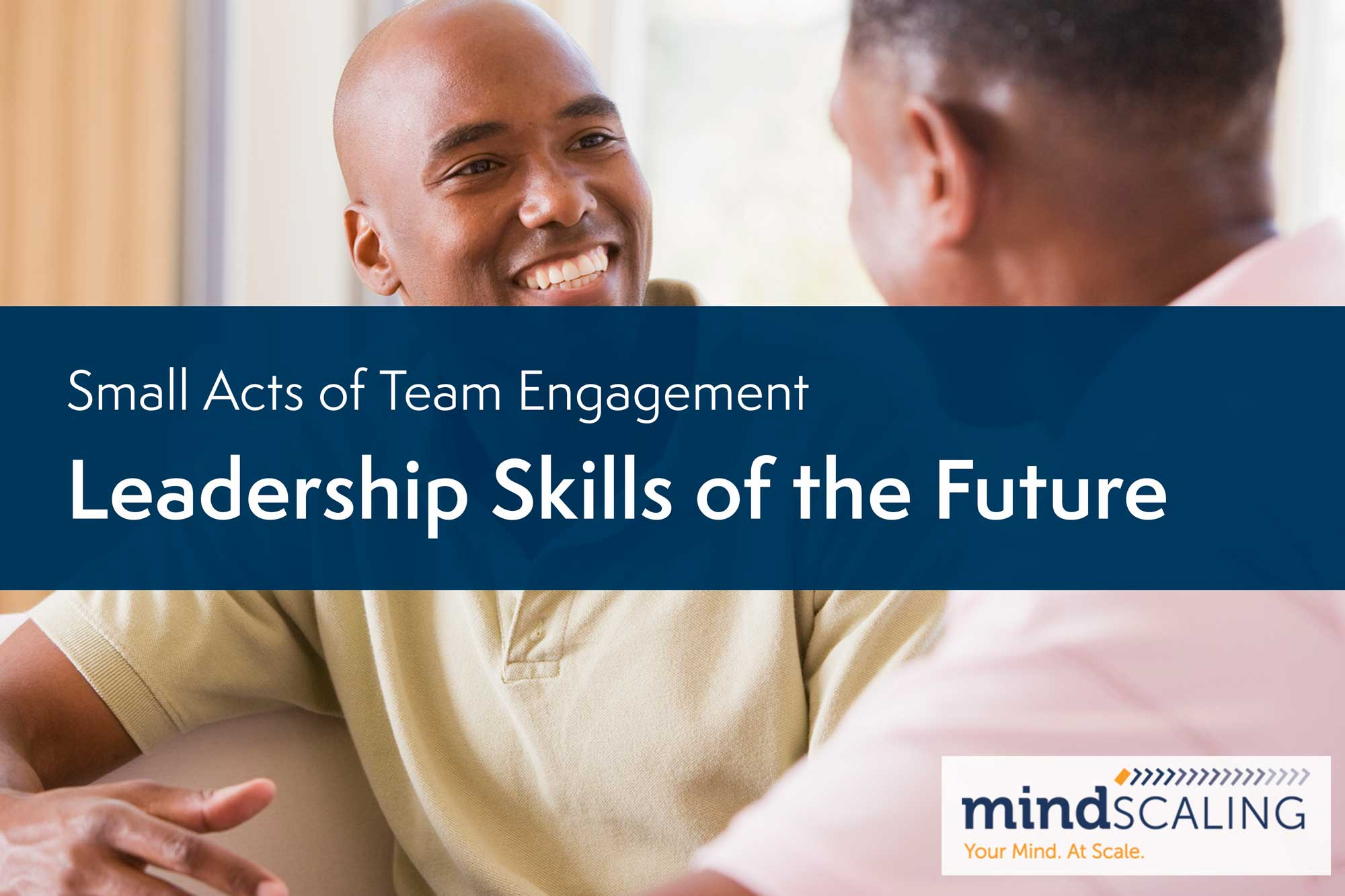 Small Acts of Team Engagement: Leadership Skills of the Future